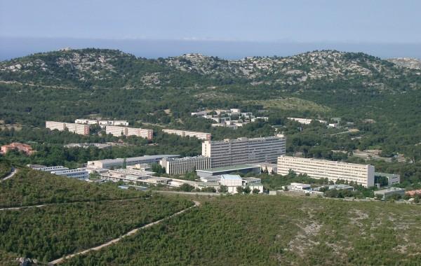 Campus de Luminy (crédits AMU)
